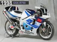 1998 Suzuki GSX-R750 Racing Bike