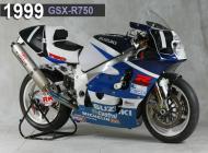 1999 Suzuki GSX-R750 Racing Bike