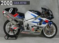 2000 Suzuki GSX-R750 Racing Bike