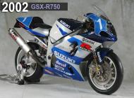 2002 Suzuki GSX-R750 Racing Bike