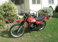 1977 Yamaha DT400 D