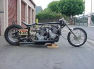 Russ Collins CB750 Twin Engine Race Bike