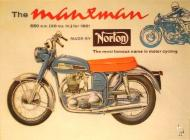 Norton Manxman 650 Advert