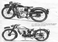 1931 Wolf 147cc and 1937 125 WA10