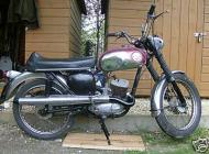 1968 BSA D14B Bantam