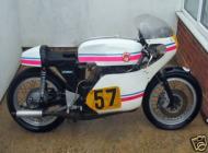 1974 DRESDA framed SUZUKI 500 twin Racing classic bike