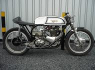 Triton 650cc race motorcycle