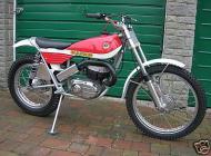 1972 Bultaco Sherpa Model 80 Slimline