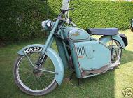 1957 Excelsior Skutabyke