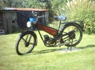Francis Barnett 98cc Autocycle