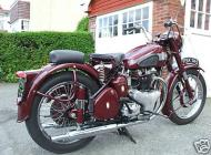 BSA A7 500cc Twin