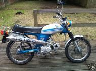 1971 Honda CL70 K2 Scrambler