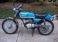 1973 Yamaha RD60