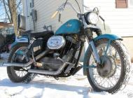 1958 Harley Davidson XLH