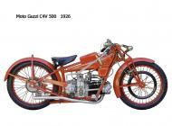 1926 Moto Guzzi C4V 500