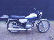1977 Moto Guzzi 125 Co-Uno