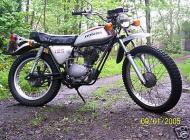 Honda SL125 1972