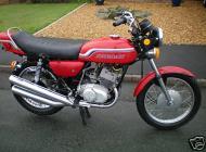 1972 Kawasaki S2A