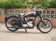 1954 BSA M21