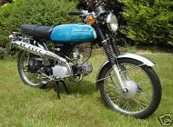 1973 Honda SS50