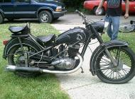1952 IZH 49 Russian motorcycle