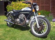 Moto Guzzi V50 Polizia