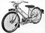 Hercules Her-Cu-Motor Mark 1 prototype moped