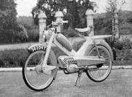 Norman Lido moped