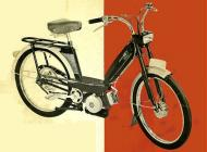 Peugeot 102 moped (version for the Netherlands)