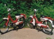 Honda PC50 mopeds