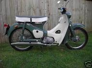 1966 Honda C100