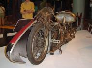 Replica of Burt Munro's 1920 Indian Scout as modified for his record attempts in 1962