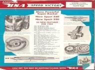 1962 BSA brochure