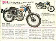 BSA Starfire Competition Model sales brochure