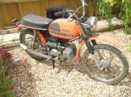 1977 Kreidler Cross Moped
