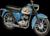1961 BSA Bantam D7