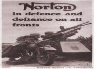 Norton WW2 Advert