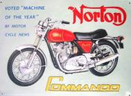 Norton Commando Advert