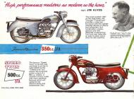 Triumph 5TA Speed Twin sales brochure