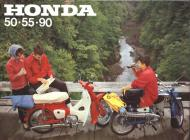 Honda 50, 55, 90 sales brochure