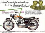 Triumph Bonneville T120R sales brochure