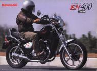Kawasaki EN400 sales brochure