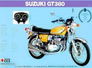 Suzuki GT380 sales brochure