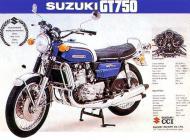 Suzuki GT750 brochure
