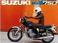 Suzuki GT750 poster