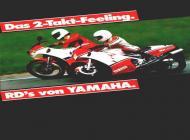 Yamaha RD sales brochure