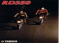 Yamaha RD350 sales brochure