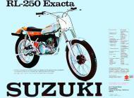 Suzuki RL-250 Exacta sales brochure