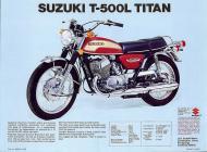 Suzuki T-500L Titan brochure