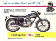 Triumph Tiger T100S sales brochure